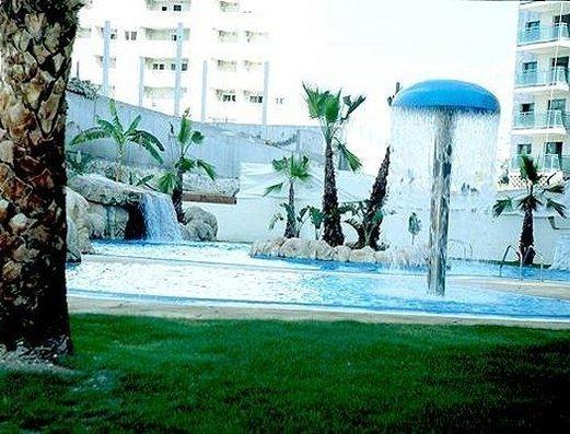 Piscina y Splash infantil Apartamentos Magic Atrium Beach