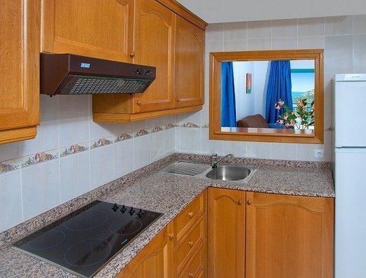Cocina independiente Apartamentos Magic Atrium Beach