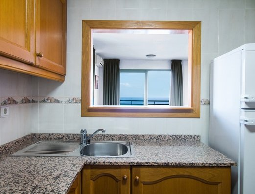 Cocina independiente Apartamentos Magic Atrium Beach