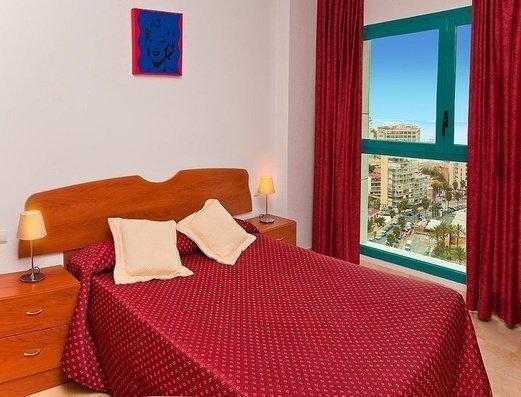 Dormitorio en Apartamento 2/4 Apartamentos Magic Atrium Beach