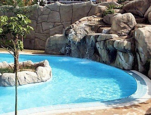 Piscina Apartamentos Magic Atrium Beach
